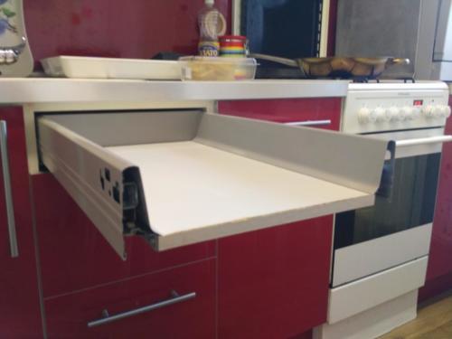 Ремонт выдвижного ящика кухни ИКЕА