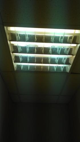 Замена ламп и стартеров