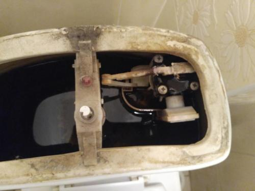 Унитаз IDO плохо набирает воду.