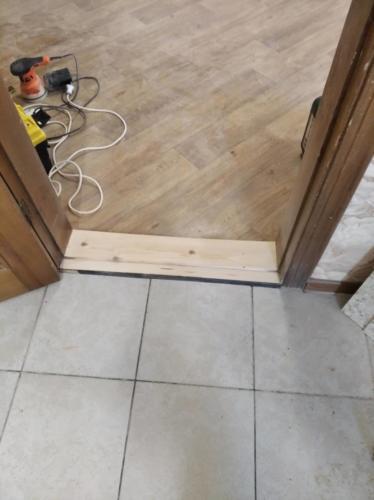 Реставрация деревянных порогов
