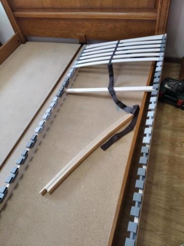 Сборка и установка ламелей для кровати