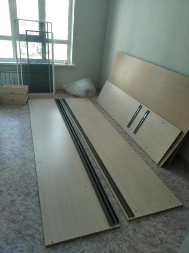 Разборка-сборка шкафа-купе 1